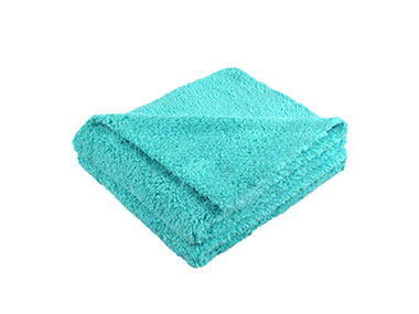 Laser Cutting Coral Fleece Towel